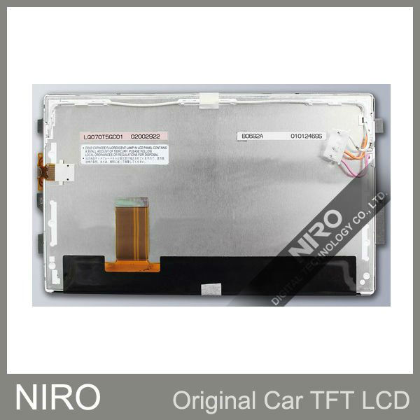New Original Car Navigation/DVD LCD Display Screen w/ Touch Screen Digitizer Lens lcd display for Toyota Camry