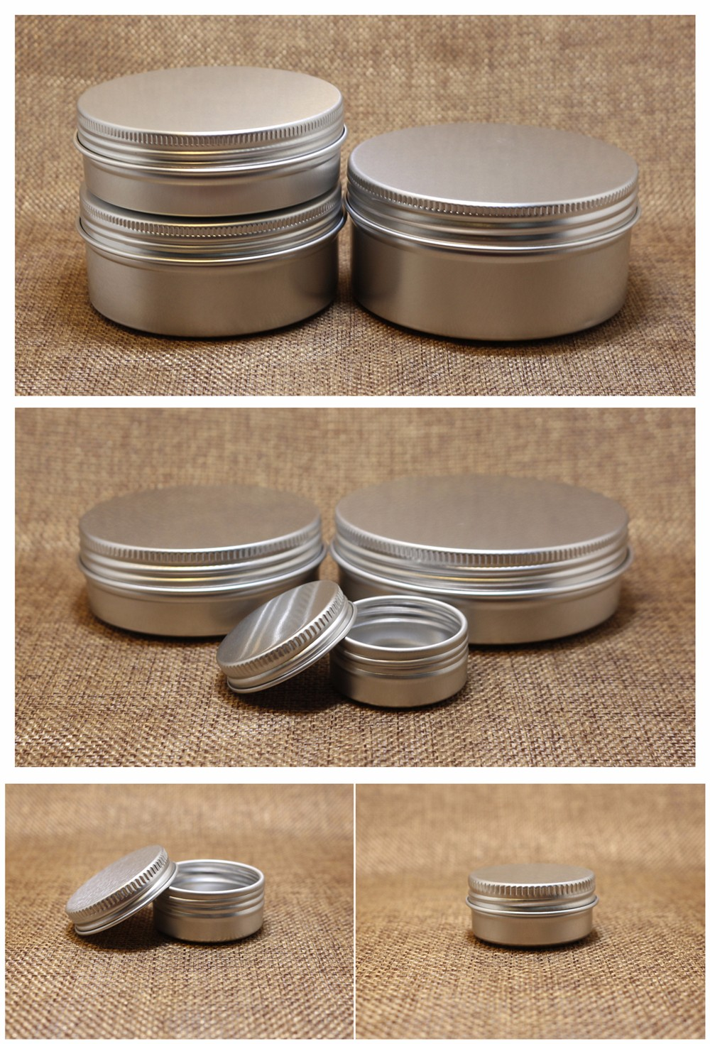 10g 5g 20g 25g 30g Printed Lip Balm Tin Containers wholesale AJ-20Z