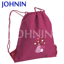 wholesale custom polyester drawstring promotional gift bags