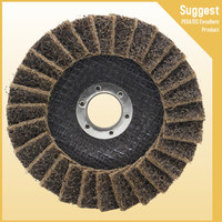 polishing cloth wheel stainless steel angle grinder abrasive flap disc
