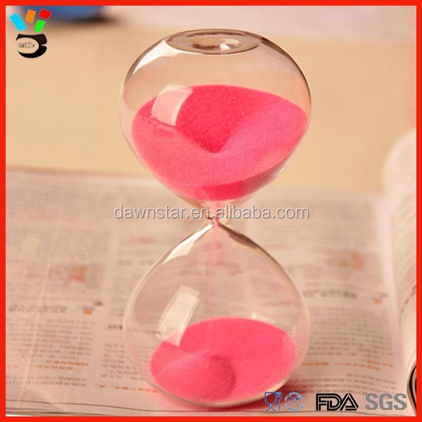 5 /10/30 minutes colorful sand timer hourglass