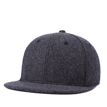 hot sale winter good quality wool blank custom fedora snapback hats