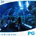PG Large Oceanarium Custom Acrylic Sheet for Tunnel