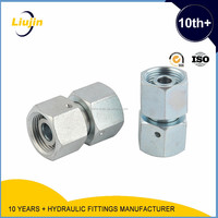 hydraulic female connectors JIC thread