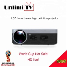 [2018 World CUP] android hd 3000 lumens 1080p LED digital mini portable film projector
