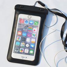 PVC IPX8 Certificated Earphone Waterproof Bag For Iphone X