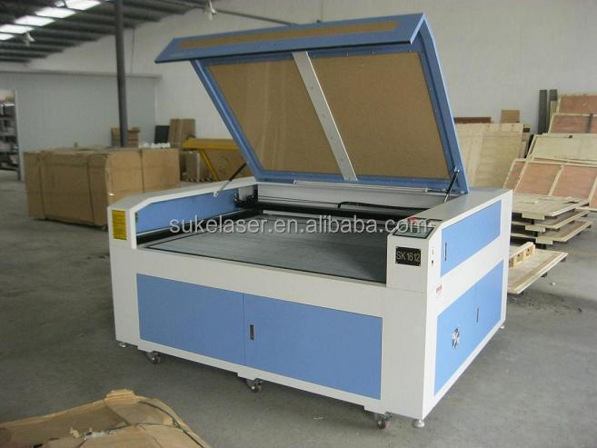stepper motor CE FDA fabric and leather laser engraver machine
