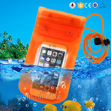 waterproof swimming pouch,waterproof lanyard pouch,waterproof phone case