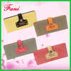 Cheap nubuck Leather money purses with belt clipe design for ladies
