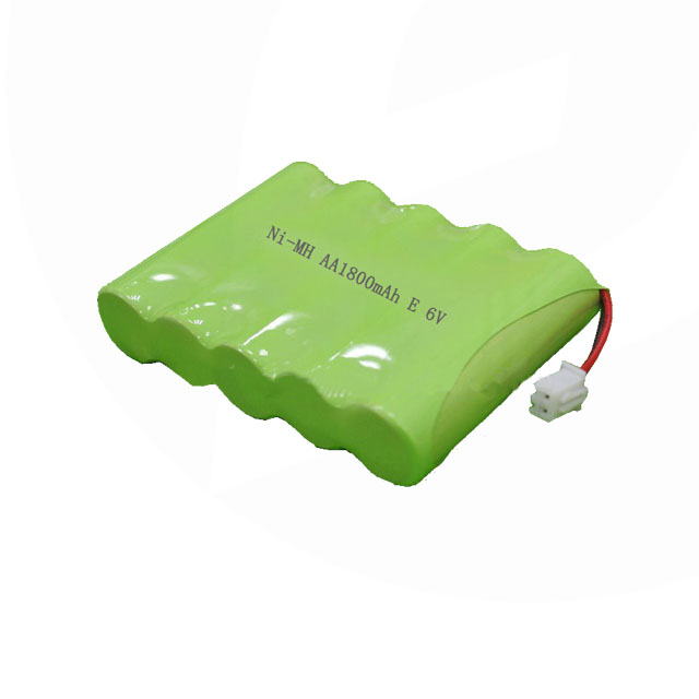 Shenzhen Ni-MH rechargeable 6V AA 1800mah NiMH battery pack