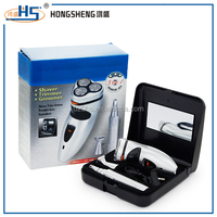 promption product low price electric 3 in1 men shaver rzaor kit with nose ear trimmer beard trimmer