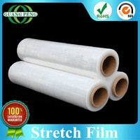 Popular LLDPE Material Soft Hardness Clear Pallet Stretch Wraps Film