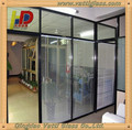 Office Clear Partition Tempered Toughened Laminated Glass Wall