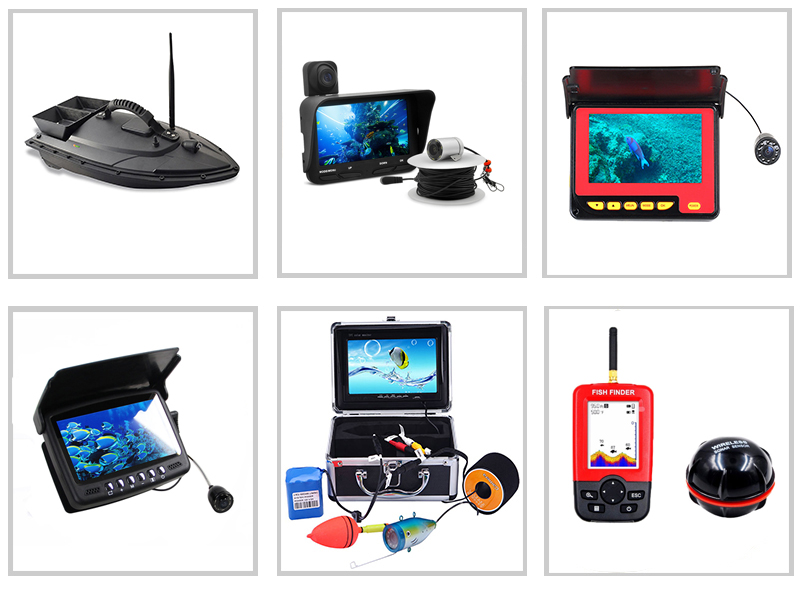 Wholesale chinese supply ABS RC fish finder bait boat remote controlled fishing bait boat for other fishing products