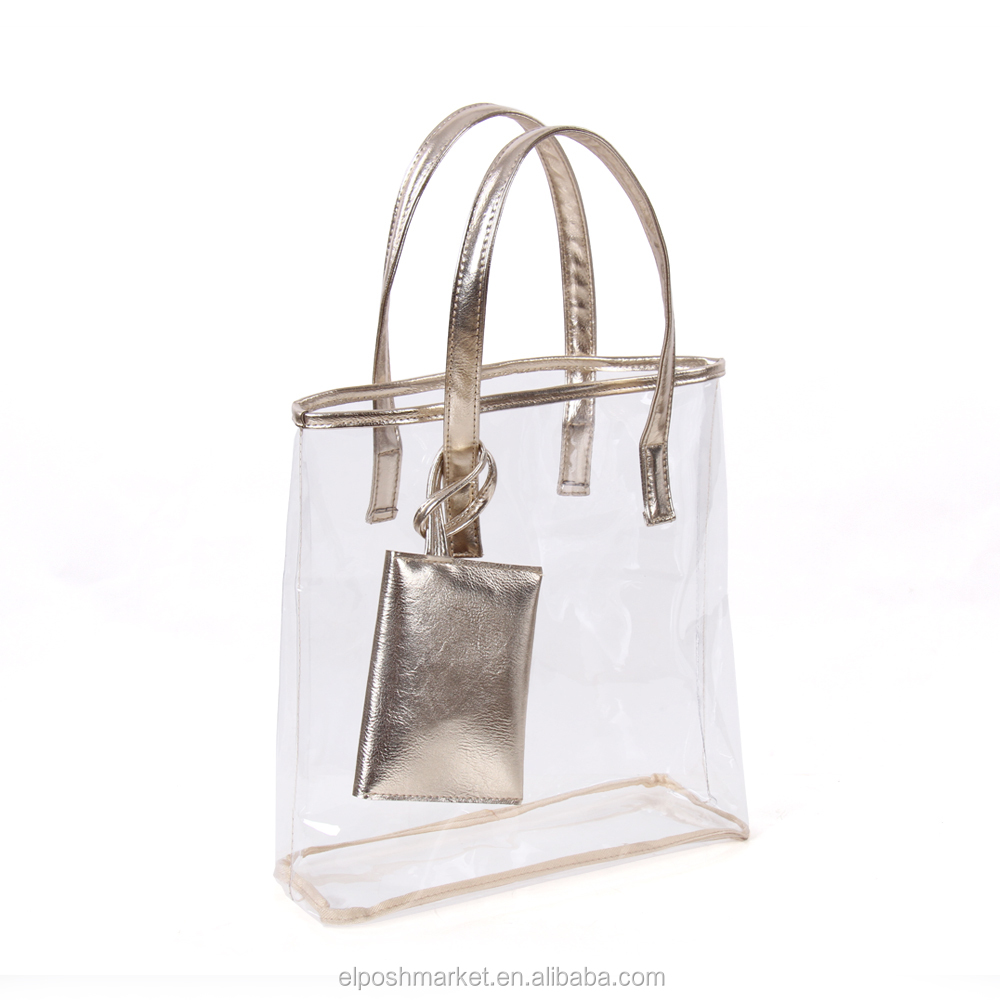 New Fashion Transparent PVC Hand Bag