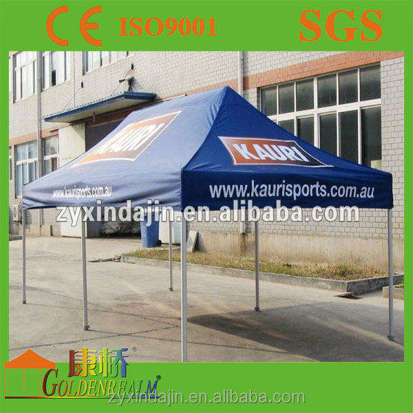 Outdoor large size 10x20 feet commercial quick folding gazebo tent with Oxford fabric canopy for sale