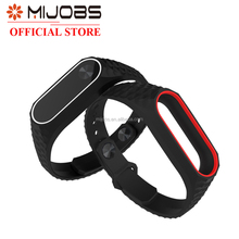 Mijobs rubber silicone miband 2 watch band