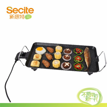 High quality table top electric teppanyaki bbq grill