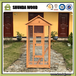 SDB002 small pet cage wooden bird cages