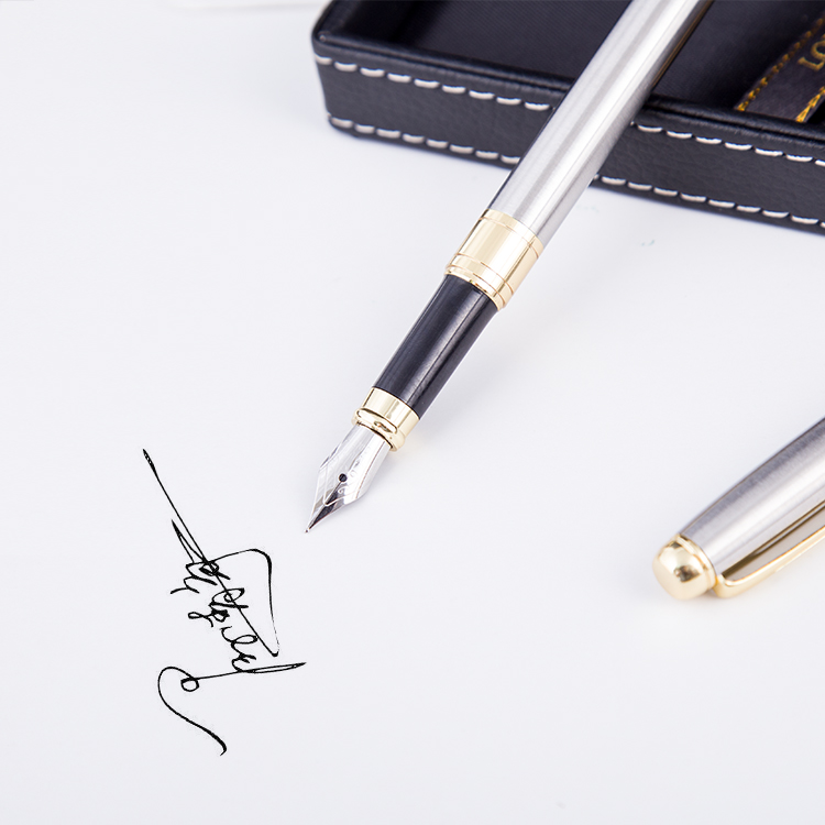 2018 Business Executive custom logo fountain pen as gift