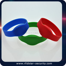hot sale silicone wristband cheap rfid wristband wristband for door Access control