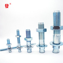 High Quality Wedge anchor zinc plating expansion through bolt