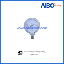 gaseous and liquid media pressure gauge