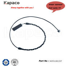 Kapaco Auto brake pad Warning Contact, brake pad wear 34351181337