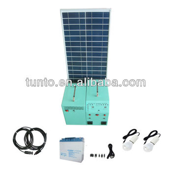 shed lighting 12V lamp small solar free energy generator