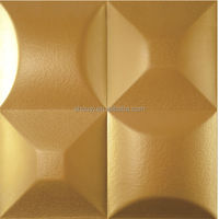 3d soft leather carving ceiling and wall board
