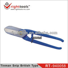 RIGHTTOOLS RT-940058 Tinman's Snipper British Type