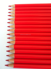 Professional red colored pencils bulk