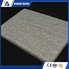 CE certificated Tested Waterproof Finely Processed Use Colored Wood Grain Fiber Cement Board