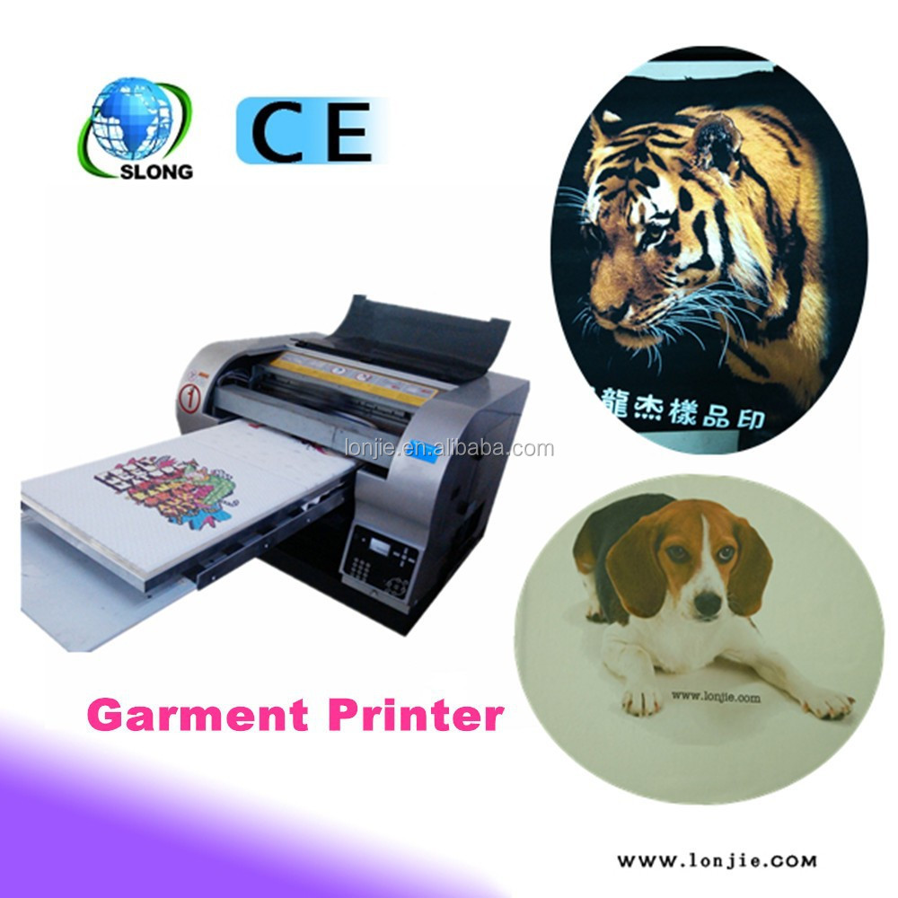 3D printing machine direct to print on garment textile clothes digital printer