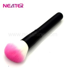 aluminum tube soft gentle tapered powder brush makeup brush