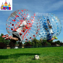 Inflatable bumper ball suit buddy for adult, inflatable human soccer bubble ball for football