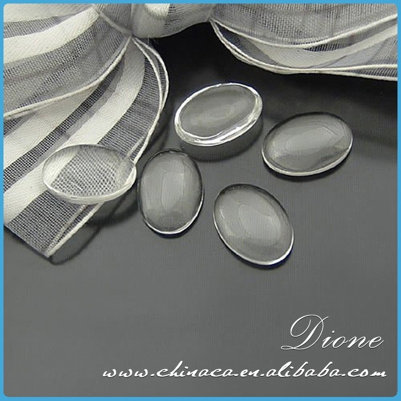 clear acrylic cabochons