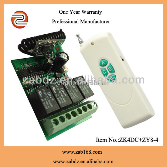 315/433mhz wireless remote controlled electrical switch