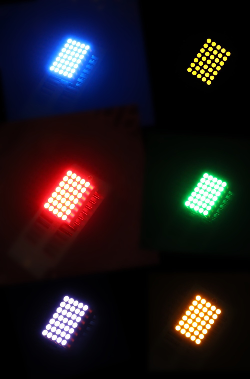 1.9mm 5x7 led dot matrix, dot matrix led display,led matrix light