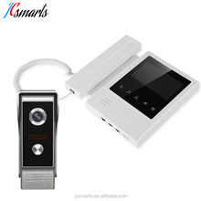 Villa/apartments video intercom doorbell phone wired video entry system unlock door remotely
