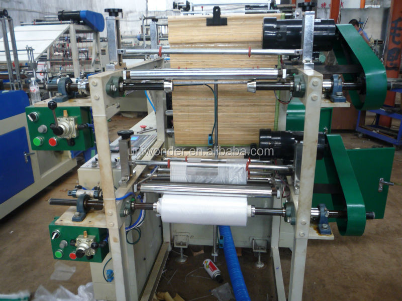 professional manufacturer high quality plastic pe film roll garbage bag making machine