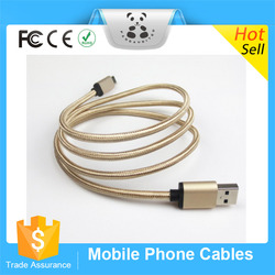 High Performance Usb Cable For Iphone Fabric Braided Sync Cable Charger Cord For iphone 6 iPhone 5 iphone5s
