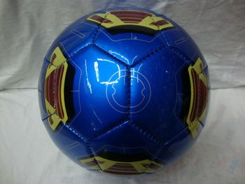 shiny PU classic training and promotional socer ball size 5
