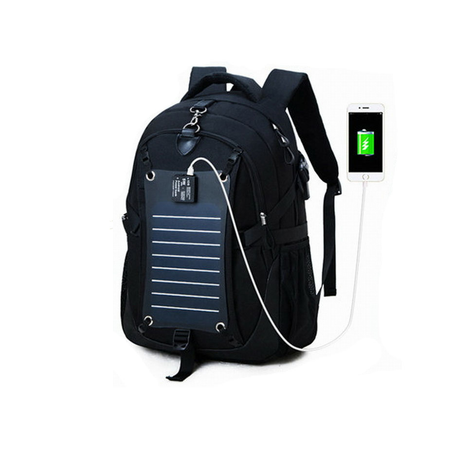 JunYuan Wholesale Solar Backpack Bag with USB Charger,Laptop Backpack Bag With Sun Panel