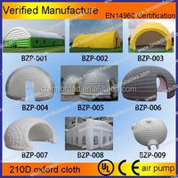 customized inflatable quare tent for party/wedding/paintball games/camping and different events