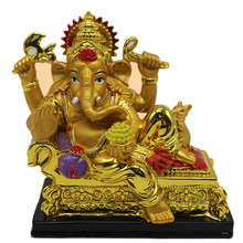 Wholesale Ganesha Suppliers Wedding gift resin sandstone hindu god lord ganesha idol figurine