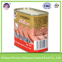 Wholesale goods from china canned meat/canned chopped pork and ham