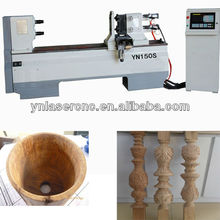 YN150S woodworking lathe with high speed and accuracy