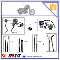 Motorcycle spare parts motorcycle choke cable clutch cable