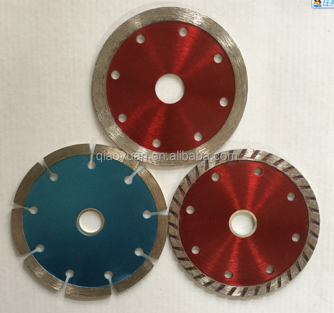 High Power tool parts wet or dry cutting diamond tile saw blades